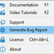 [Image: generate_bug_report_menu.jpg]