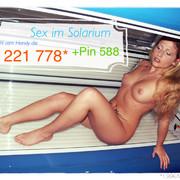 Handy Telefon Sex im Solarium