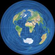 azimutal-equidistant-equator