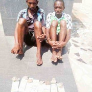 Two Armed Robbers Apprehended with $800,000 counterfeit along Lokoja to Abuja Highway (Photos)