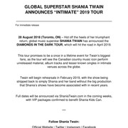 shania_diamondsinthedarktour_pressrelease