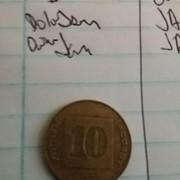 Otra moneda de Israel a identificar B1