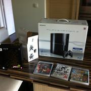 [PS3] Console et 4 jeux (JAP/US) 2