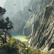 where-the-eagles-fly-gory-priroda-ptitsa-vodoiom